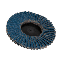 "3"" Zirconia Roloc® Type 80 Grit Mini Flap Discs"