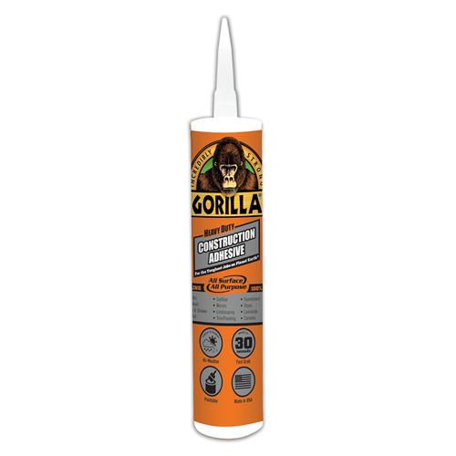 9 oz. Gorilla Heavy Duty Construction Adhesive