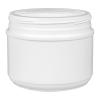36 oz. HDPE White Canister with 120mm Neck (Lid Sold Separately)