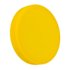 89mm Yellow Polypropylene Fine Ribbed Lid