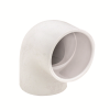 "3/8"" Schedule 40 White PVC Socket 90° Elbow"