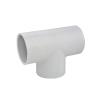 "1/2"" Schedule 40 White PVC Socket Tee"