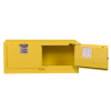 12 Gallon Self-close Justrite® Sure-Grip® EX Piggyback Cabinets