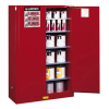 60 Gallon 2 Manual-Close Doors Justrite® Sure-Grip® EX Safety Cabinet for Combustibles