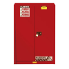 60 Gallon 2 Self-Close Doors Justrite® Sure-Grip® EX Safety Cabinet for Combustibles