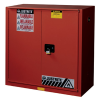40 Gallon 1 Sliding Self-Close Door Justrite® Sure-Grip® EX Safety Cabinet for Combustibles