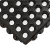 3' x 3' Black Open 24/Seven Mat