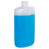 8 oz. LDPE Oval Bottle with 24/410 Neck (Cap Sold Separately)