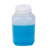 8 oz. Polyethylene Wide Mouth Oblong Bottle with 43/400 Cap