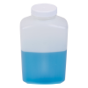 32 oz. Polyethylene Wide Mouth Oblong Bottle with 53/400 Cap