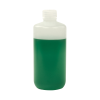 16 oz./500mL Nalgene™ Narrow Mouth HDPE Economy Bottle with 28mm Cap