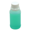 100mL Kartell HDPE Tamper Evident Bottles with Caps - Case of 100