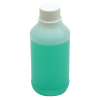 250mL Kartell HDPE Tamper Evident Bottles with Caps - Case of 50