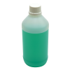 500mL Kartell HDPE Tamper Evident Bottles with Caps - Case of 30