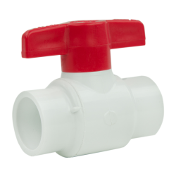 "1-1/4"" Socket CWV PVC Ball Valve"