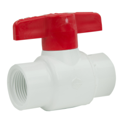"1-1/4"" Threaded CWV PVC Ball Valve"