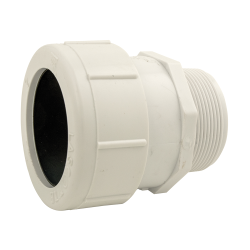 "1-1/4"" PVC Compression Male Adapter"