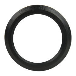 "3"" Black Uniseal® Pipe-to-Tank Seal"