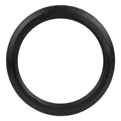 "4"" Black Uniseal® Pipe-to-Tank Seal"