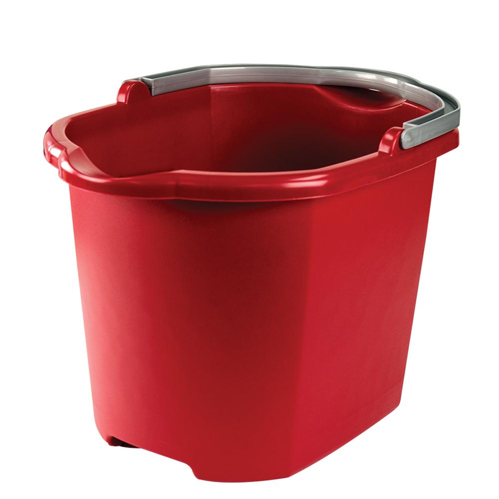 Sterilite® 16 Quart Dual Spout Red Pail