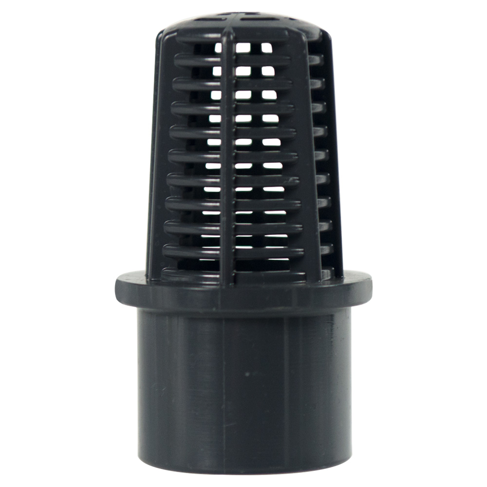 "1-1/4"" Spigot PVC Compact Foot Valve Screen"