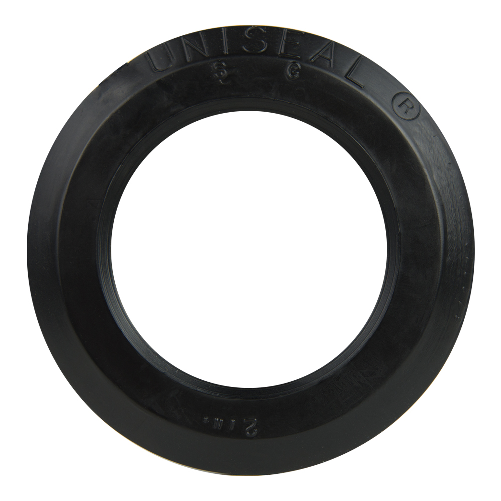 "2"" Black Uniseal® Pipe-to-Tank Seal"