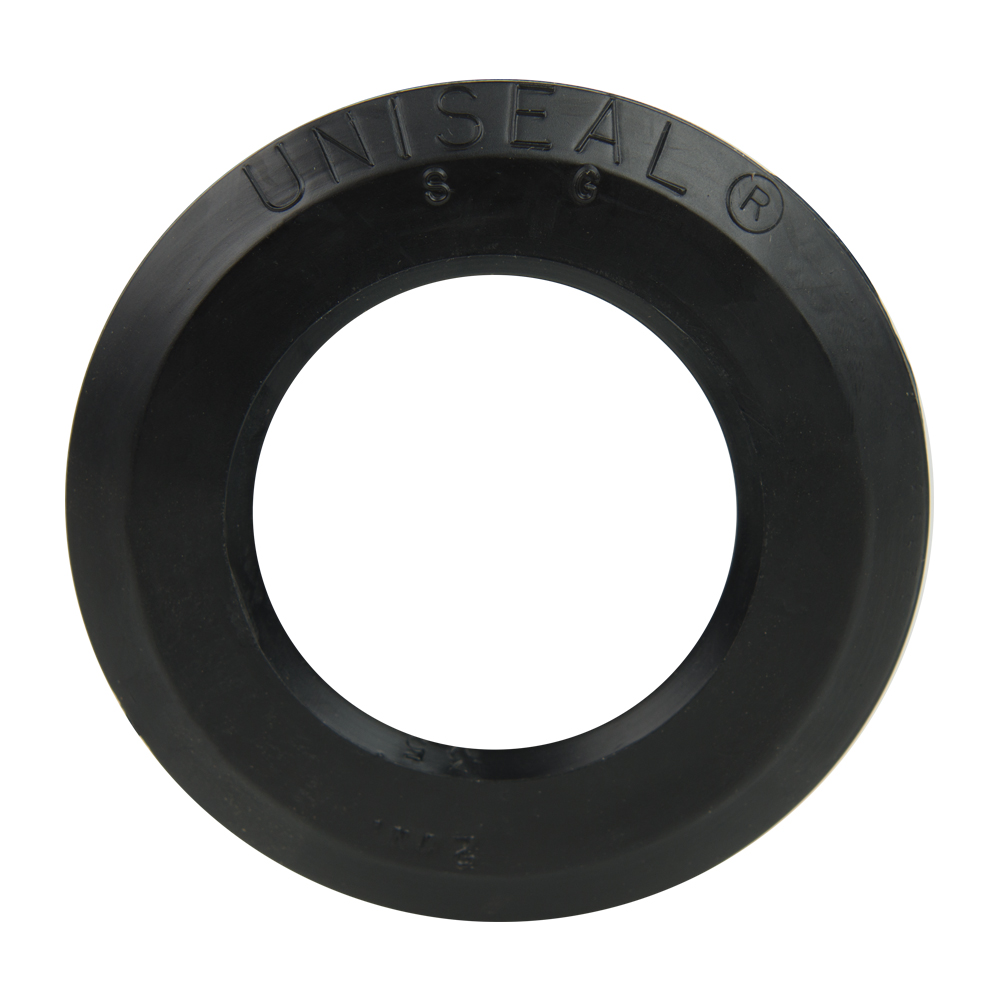 "2"" SDR-35 Black Uniseal® Pipe-to-Tank Seal"