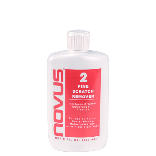 8 oz. NOVUS® No. 2-  Fine Scratch Remover w/Flip-Top Cap