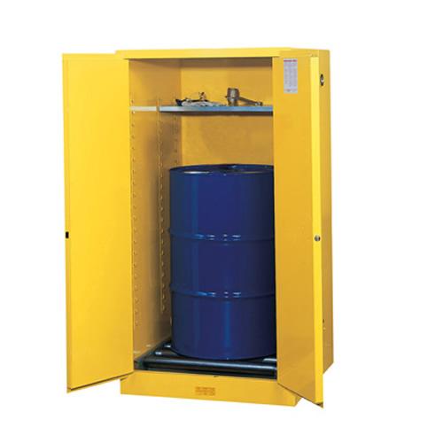 Justrite® Sure-Grip® EX Vertical Drum Cabinets