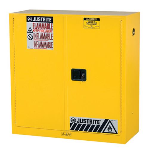 30 Gallon Manual Justrite® Sure-Grip® EX Safety Cabinet