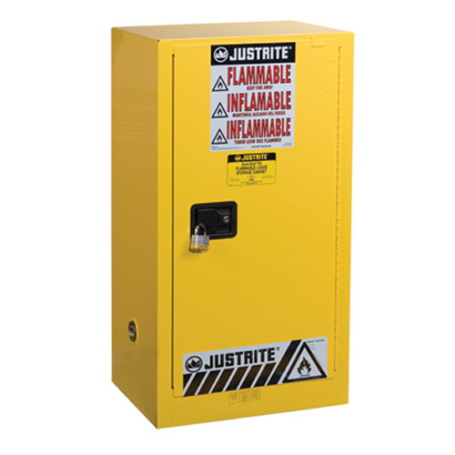 15 Gallon Self-Close Justrite® Sure-Grip® EX Compac Cabinet
