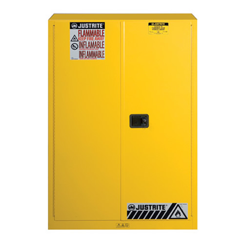 45 Gallon Manual Justrite® Sure-Grip® EX Safety Cabinet