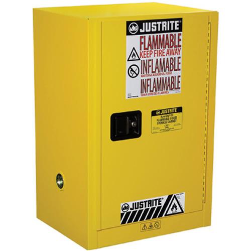 12 Gallon Self-Close Justrite® Sure-Grip® EX Compac Cabinet
