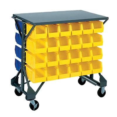 Akro-Mils® Bin Cart and Storage Bins
