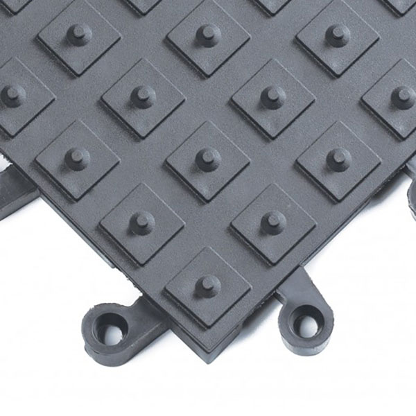 Charcoal Gray ErgoDeck Safety System with No-Slip Solid Cleats