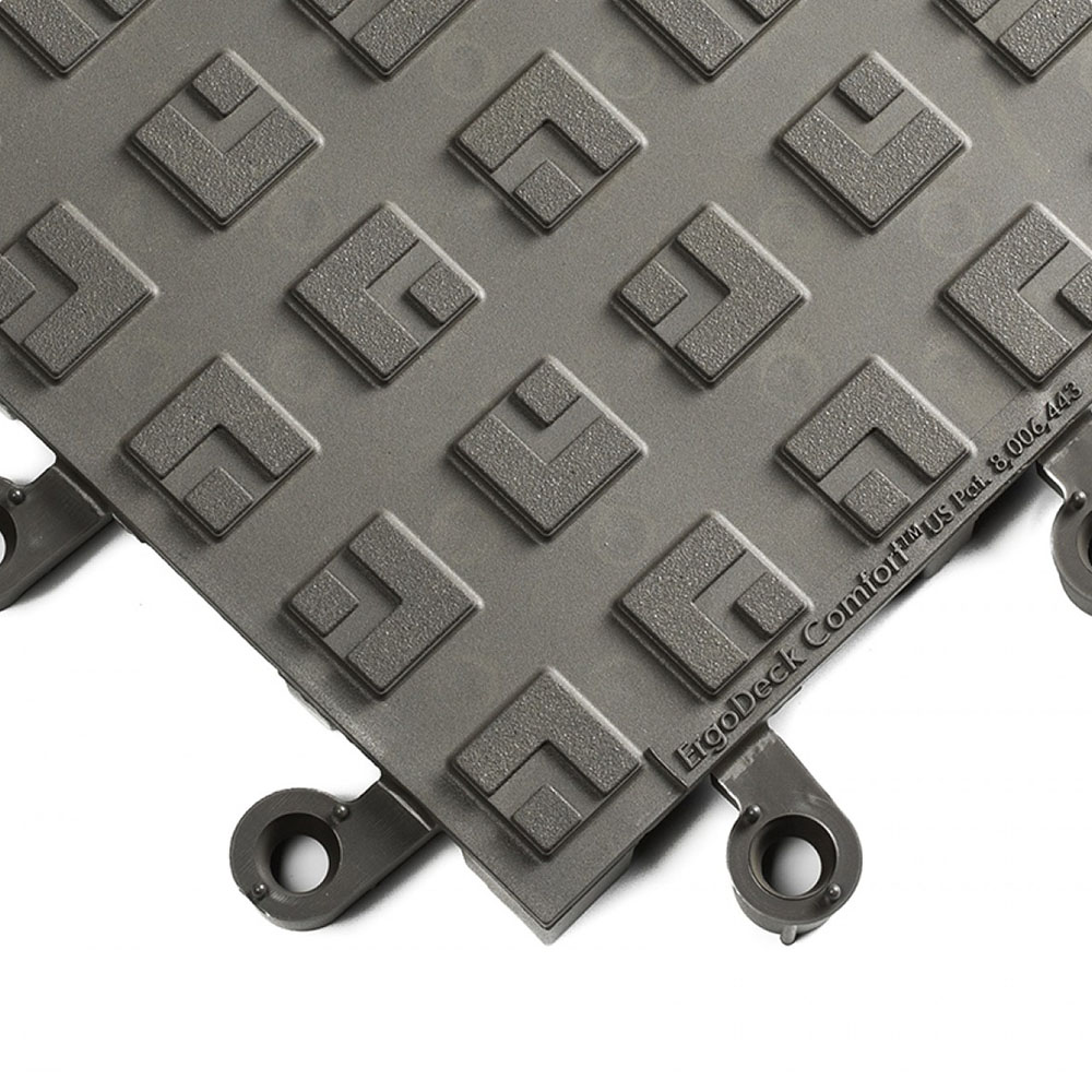 Charcoal Gray Comfort Solid ErgoDeck Safety System