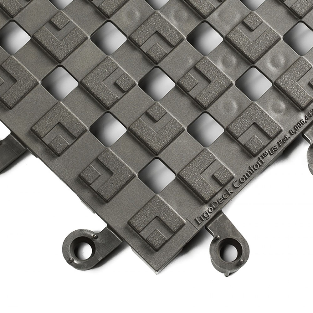 Charcoal Gray Comfort Open ErgoDeck Safety System