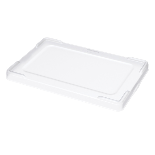 "Clear Snap On Lid for 16-1/2"" L x 10-7/8"" W Akro-Grid Bins"
