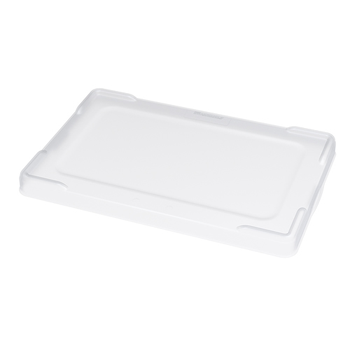"Clear Snap On Lid for 22-3/8"" or 22-1/2"" L x 17-3/8"" or 17-1/2"" W Akro-Grid Bins"
