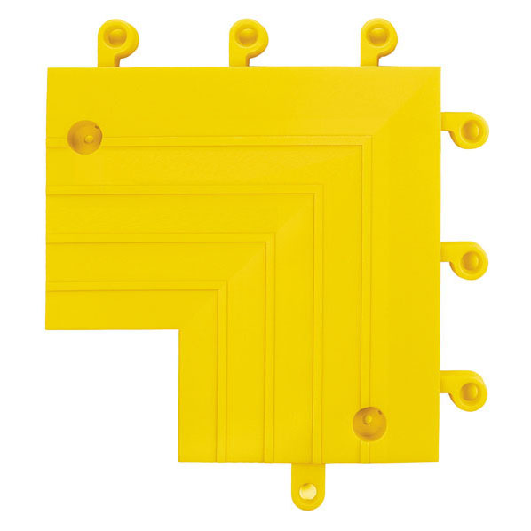 "9"" x 9"" x 6"" Yellow ErgoDeck Inside Corner"