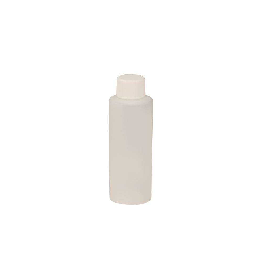 4 oz. Translucent Cylindrical Sample Bottle with 24/410 Cap