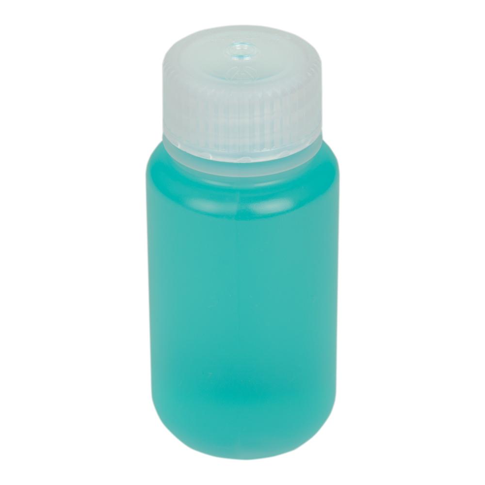 2 oz./60mL Nalgene™ Wide Mouth Polypropylene Economy Bottle with 28mm Cap