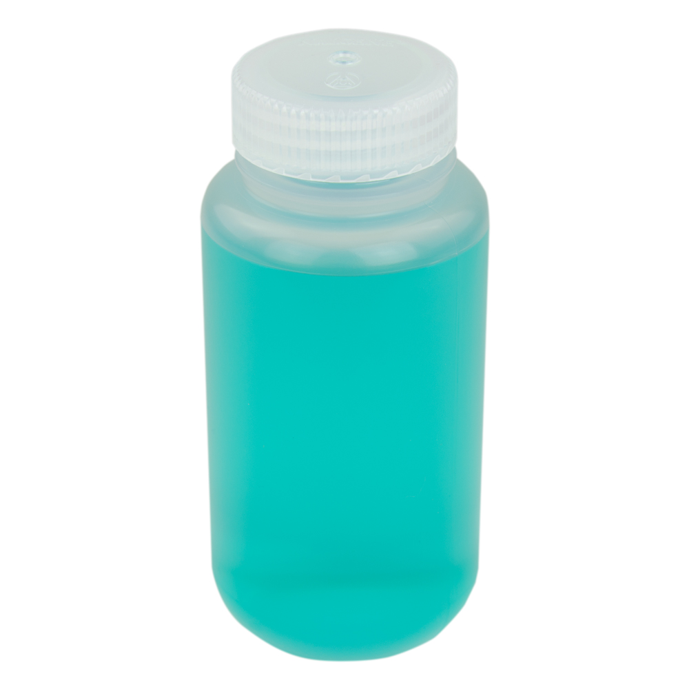 8 oz./250mL Nalgene™ Wide Mouth Polypropylene Economy Bottle with 43mm Cap