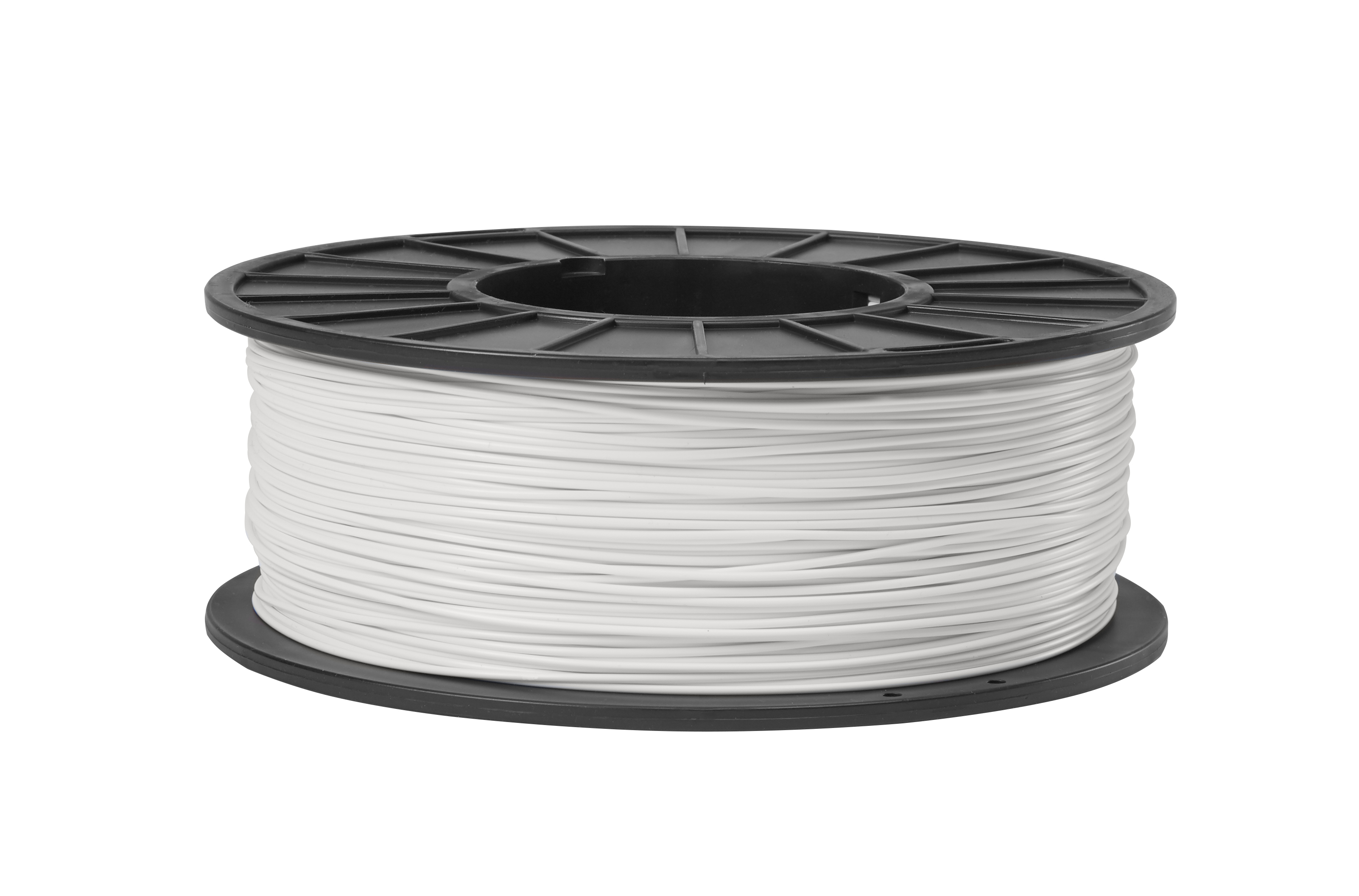 1.75mm White ABS 3D Printing Filament