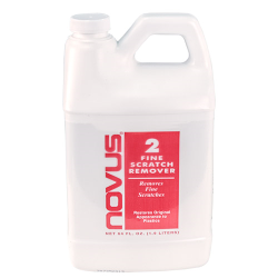 64 oz. NOVUS® No. 2-  Fine Scratch Remover