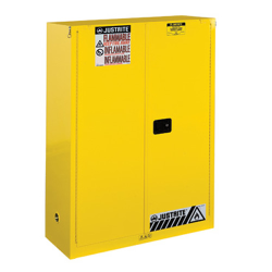 45 Gallon Self-Close Justrite® Sure-Grip® EX Safety Cabinet