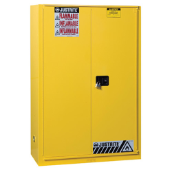 45 Gallon Sliding Self-Close Justrite® Sure-Grip® EX Safety Cabinet
