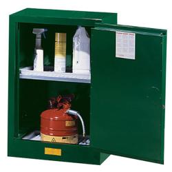 12 Gallon Manual-Close Justrite® Sure-Grip® EX Cabinet for Pesticides