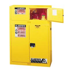 Justrite® Sure-Grip® EX Piggyback Cabinets