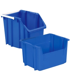 LEWISBins+® Stack and Carry Recycling Containers